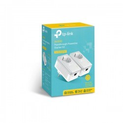 TP-LINK PA4010PKIT AV500 Powerline Adapter With AC Pass Through Starter Kit